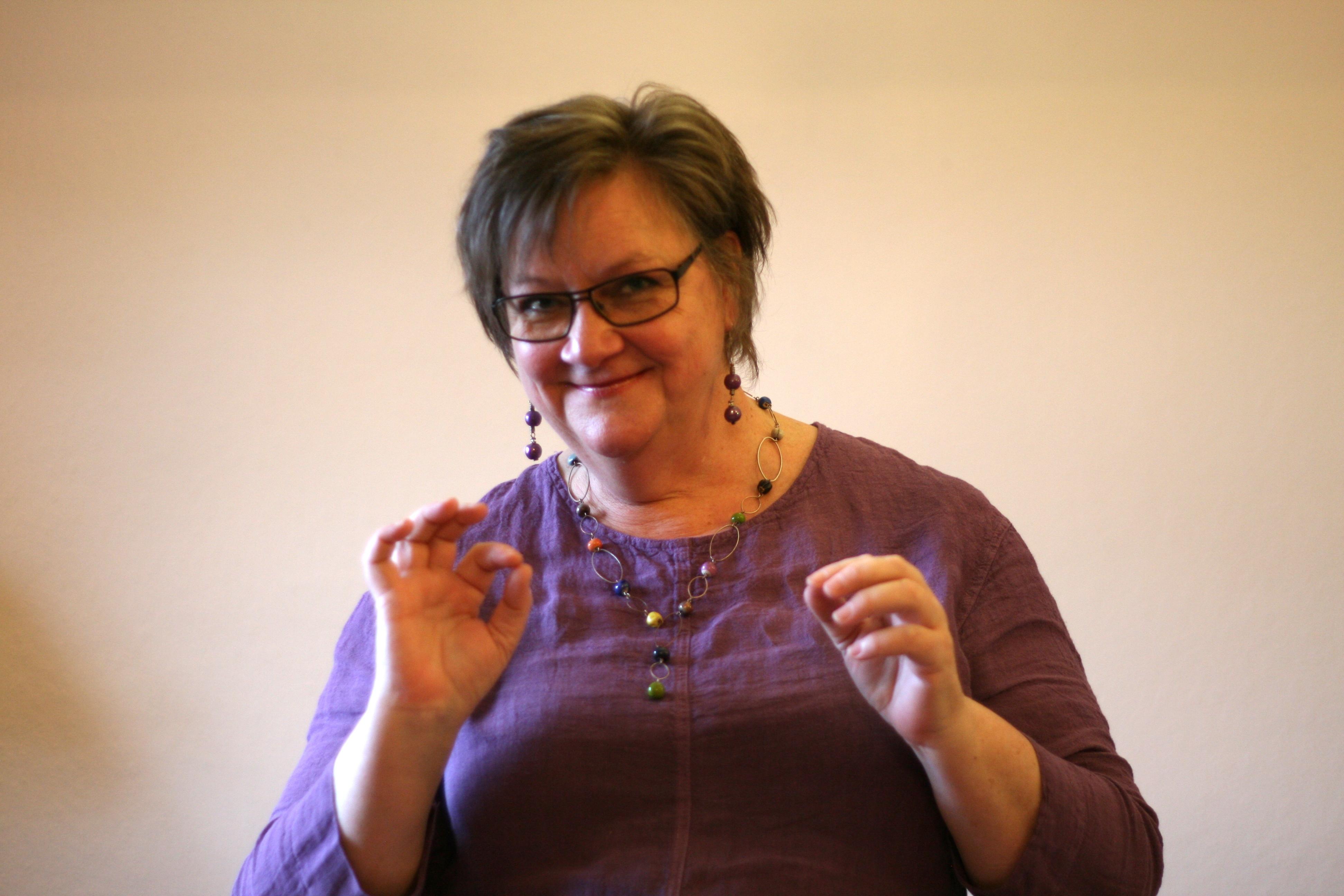 marianne christensen fortæller artbureau.dk foto merete helbech hansen