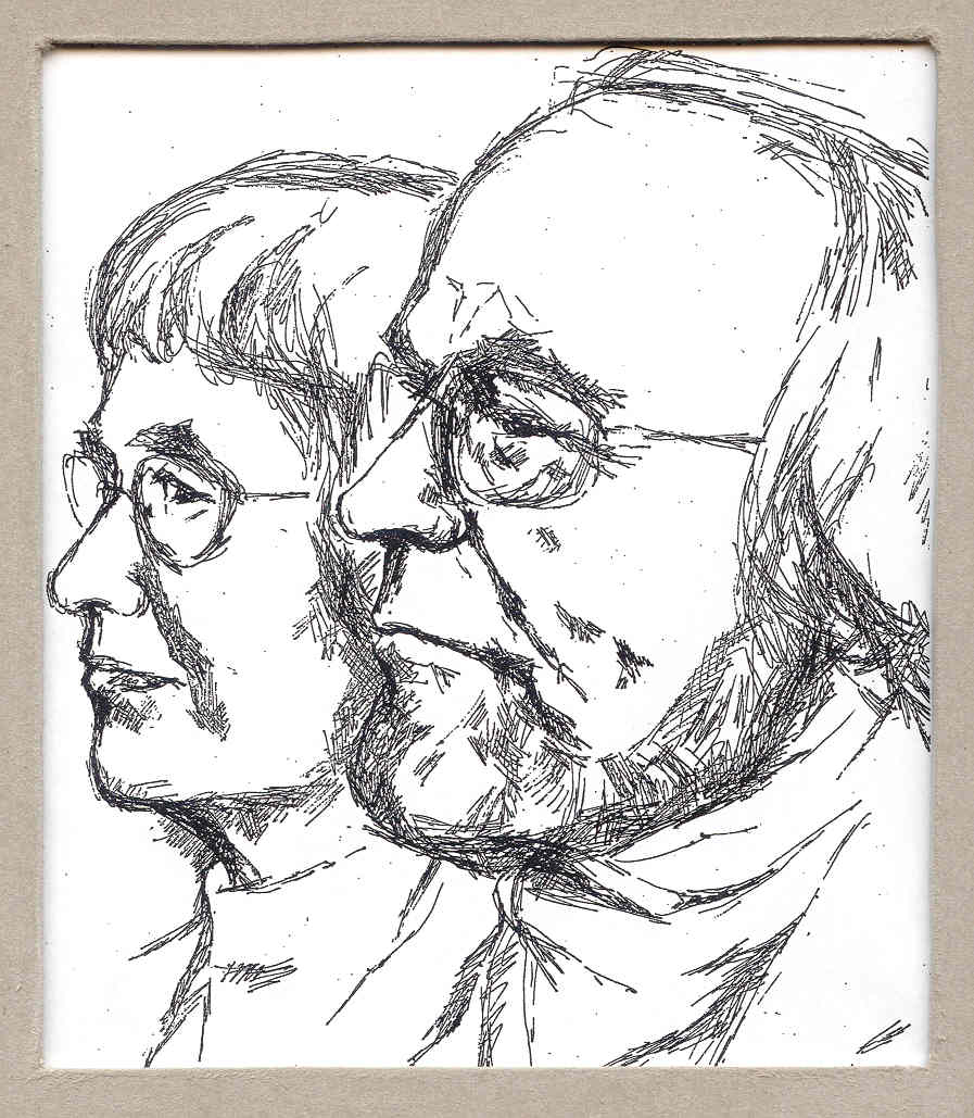 Anna og Arne tegning